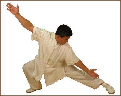Master Xing in a pu bu stance